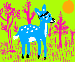 Bambi, now in technicolor
