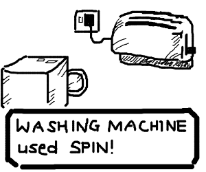 A game with appliances in place of Pokemon.
