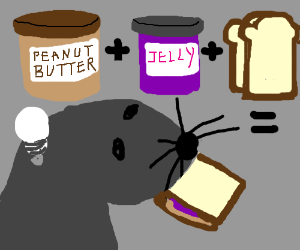 PB&J time sandwich intuitive enough for Seal.