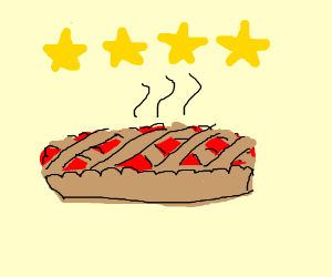 4-star pie! 4-star cherry pie!