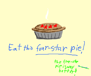 Four star pie