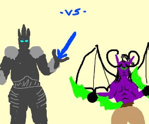 The Lich King vs. Illidan