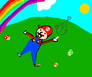 Mario on shrooms.