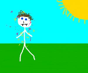 stick figure Edward Cullen