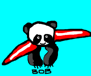 Bob the airplane panda
