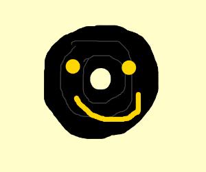 LP smiley face.
