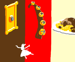 Doorbells & sleighbells & schnitzel w/ noodles