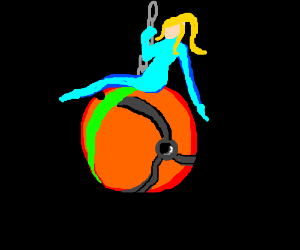 Samus came in like a Morph Ball