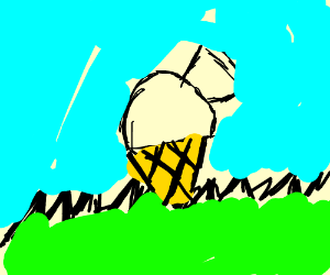Ice cream cone golf