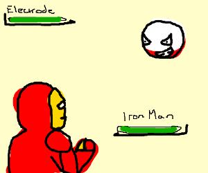 Ironman v.s. electrode