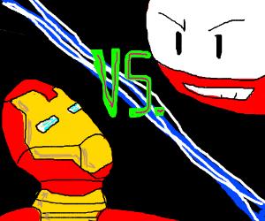 Iron Man vs Electrode