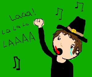 Pilgrim sings a song of his people
