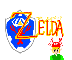 Introducing Lobsters link the new Zelda game
