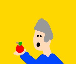 The origin of the Apple logo