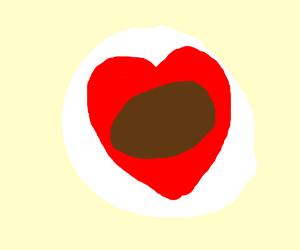 Walnut Love Sticker
