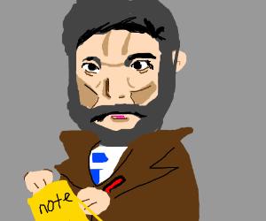 alexander graham bell takes a memo
