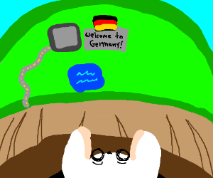 The Rabbit hole ends in Germany.