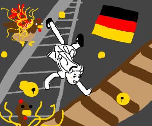 Door/Knobs/TurkeyPasta/GermanFlag/White Alice