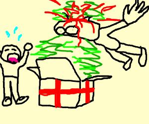 This Christmas I gave u my tree!