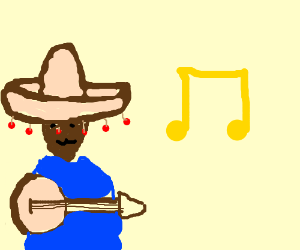 Bob the Mexican banjo player