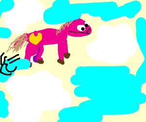my little pony soaring fast