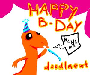Happy birthday DoodleNewt!