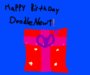 Happy birthday, DoodleNewt!!!
