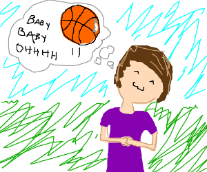 Bieber daydreams of basketball