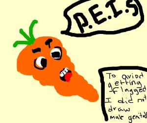 carrot peis