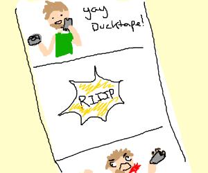 """Shaving w/ ducktape is unsafe but fun""-comics"