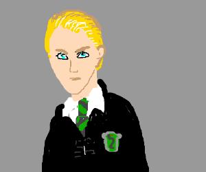Draw Draco Malfoy (Harry Potter), you mudblood