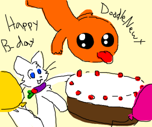 Happy Birthday, DoodleNewt! HONK HONK!
