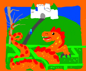 Here Be Dragons (Adventure, Atari)