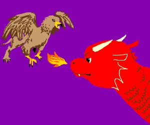 Dragon vs Griffon