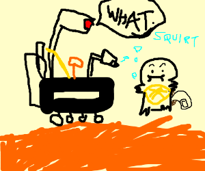 mars rover finds squirtle