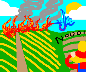 Them pixie dragons be burning mah crops!