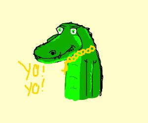 Crocodile rapper.