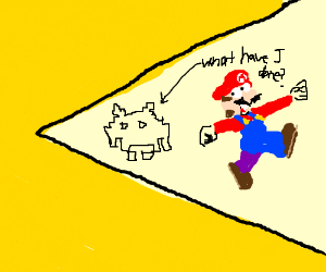 Pacman vs Mario vx Space Invaders