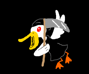 Death is a pelican
