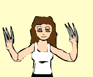 Female version of Wolverine.