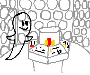 ghost on the tardis