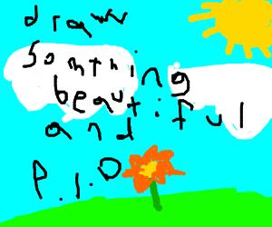 Draw Something Beautiful and P.I.O.