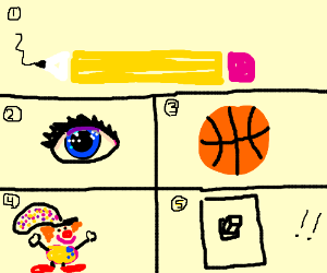 Pencil Anything basketball clown lightswitch!!
