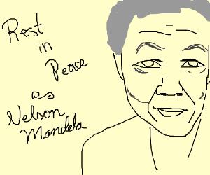Rest In Peace - Nelson Mandela