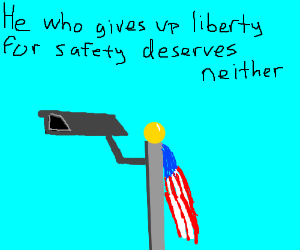 Liberty or safety.