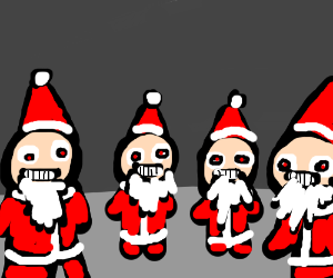 Yntec Santa has too many clones!