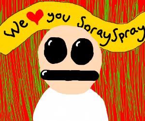 Dc vets the comic Spraynard  appreciation day