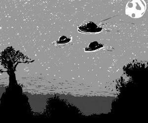 UFO in 1960.