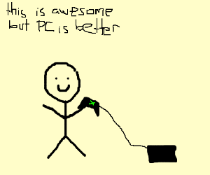 stickman likes the xbone even though pc rules