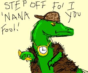 Scumbag Raptor like to throw you bananas